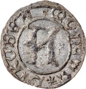 Śląsk, Księstwo Kozielskie - Konrad VII Biały 1416-1452, halerza tego Konrad VII Biały polecił wybić w Koźlu w latach 1430- 1436 na wzór halerza praskiego, R6