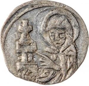 Śląsk, Księstwo Legnicko-Brzeskie - Ludwik II Brzeski 1399-1436 - halerz ok. 1430, Brzeg