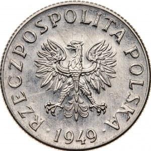 2 grosze 1949, PRÓBA NIKIEL