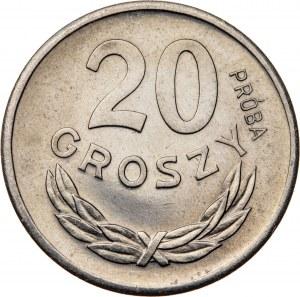 20 groszy 1949, PRÓBA NIKIEL