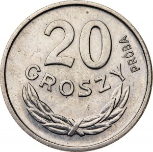 20 groszy 1963, PRÓBA NIKIEL
