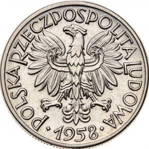 50 groszy 1958, PRÓBA NIKIEL