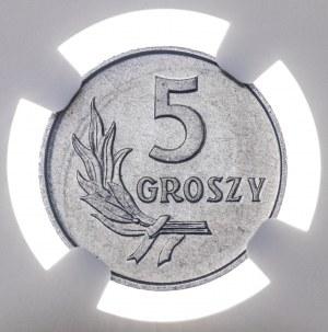 5 gr 1959, aluminium, MS 65
