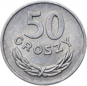 50 groszy 1967, aluminium, rzadki rocznik