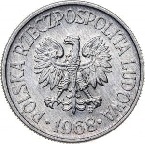50 groszy 1968, aluminium, rzadki rocznik