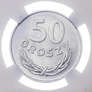 50 gr 1975, aluminium, MS 66
