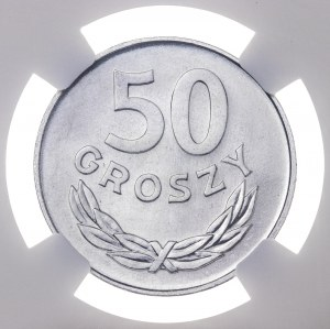50 gr 1976, aluminium, MAX NGC, MS 67