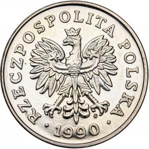 100 zł 1990, PRÓBA NIKIEL