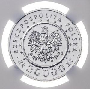 20 000 zł 1993, ZAMEK W ŁAŃCUCIE, PRÓBA NIKIEL