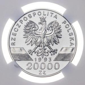 20 000 zł 1993, JASKÓŁKI, PRÓBA NIKIEL