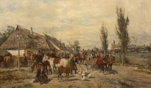 Ludwik Gędłek, Scena rodzajowa spod Krakowa