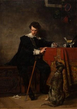 Władysław Czachórski, List miłosny, 1880