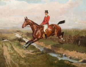Tadeusz Ajdukiewicz, Jeździec w czerwonym fraku, 1881