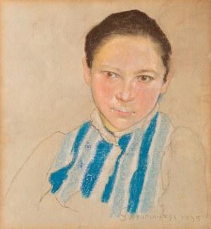 Stanisław Wyspiański, Portret dziewczyny, 1895