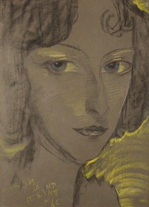 Stanisław Ignacy Witkiewicz Witkacy, Portret Janiny Turowskiej-Leszczyńskiej, 1931