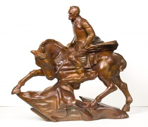 Marian (Marzyn) Konarski, Józef Piłsudski – projekt konnego pomnika, 1936
