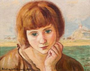 Wlastimil Hofman, Portret młodej dziewczyny, 1926