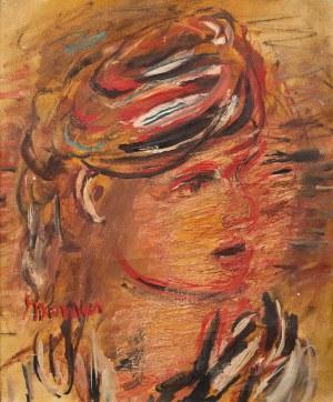 Zygmunt Menkes, Portret kobiety, ok. 1930