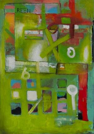 Piotr Gola, Green abstract no.1, 2018