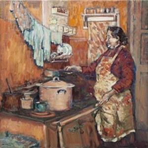 Piotr Pachecki, Kobieta w kuchni, 2018