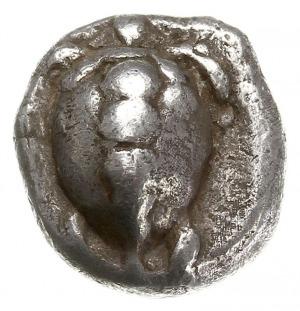 hemidrachma 480-456 pne, Aw: Żółw morski, Rw: Kwadrat i...