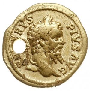 aureus 202-210, Aw: Popiersie Septymiusza w prawo, SEVE...