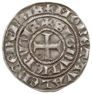 półgrosz (mały grosz) 1302-1303, mennica Valenciennes, ...
