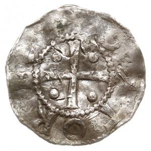 denar, Aw: Krzyż z kulkami w kątach, OTTO REX, Rw: Napi...