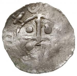 naśladownictwo denara Bolesława Chrobrego lub Mieszka I...