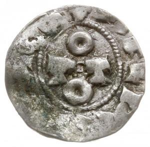 denar, Aw: Monogram OTTO, Rw: Napis w środku PAPIA, Bia...