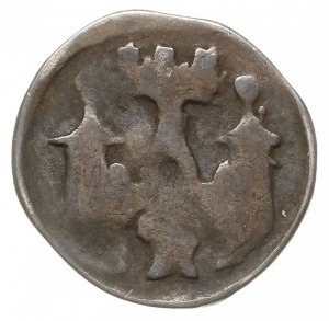 Brandenburgia, Ludwik I Stary 1323-1351, denar 1323-134...