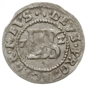 podwójny szeląg, 1622, Koszalin, odmiana z datą po boka...