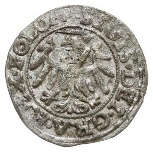 szeląg 1546, Gdańsk, patyna