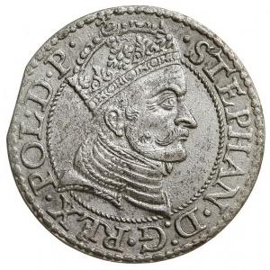 grosz 1579, Gdańsk, odmiana z kropką kończącą napis na ...