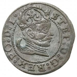 grosz 1583, Ryga, Gerbaszewski 3, patyna, nieco rzadszy...