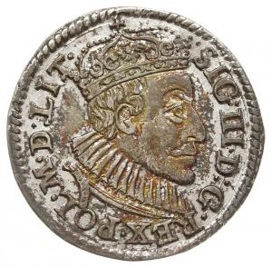 trojak 1588, Olkusz, odmiana z małą głową króla, Iger O...