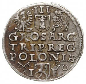 trojak 1590, Poznań, Iger P.90.5.b - ale trochę odmienn...