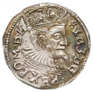 trojak 1597, Lublin, odmiana ze znakiem mincerskim (nie...