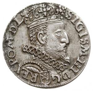 trojak 1604, Kraków, Iger K.04.1.a (R1), patyna, ładnie...