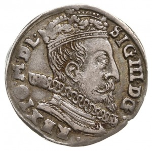 """trojak 1597, Wilno, data przedzielona znakiem mennicy """"..."""