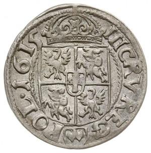 trzykrucierzówka 1615, Kraków, Kop. 887 (R1), dość ładn...
