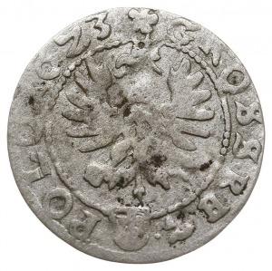 grosz 1623, Kraków, Aw: Korona i napis SIG III D G / RE...