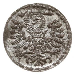 denar 1596, Gdańsk, małe cyfry daty, CNG 145.VII, piękn...