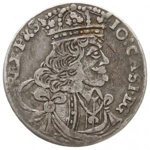 ort 1657, Kraków, litery S - CH (inicjały Stanisława Ch...
