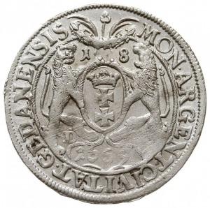 ort 1659, Gdańsk, na awersie odmiana napisu M D L R P, ...