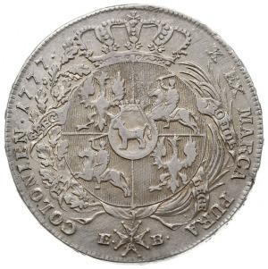 talar 1777, Warszawa, odmiana z końcówką LITU, srebro 2...