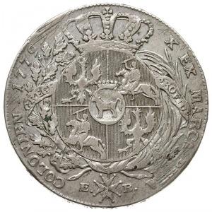 talar 1779, Warszawa, odmiana z kropką po dacie, srebro...