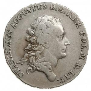 półtalar 1778 EB, Warszawa, srebro 13.89 g, Plage 364, ...