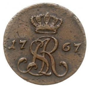 półgrosz 1767/G, Kraków, Plage-miedź 12, ładny
