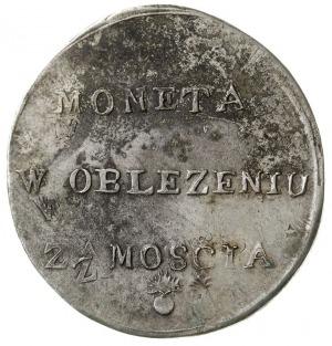 2 złote 1813, Zamość, odmiana z dłuższymi gałązkami wie...